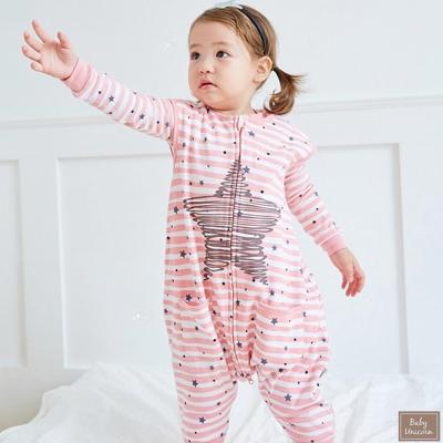 Baby unicorn 粉色星星防踢睡袋