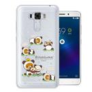 日本授權拉拉熊 華碩 ZenFone3 Laser ZC551KL變裝彩繪手機殼(熊貓白)