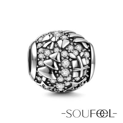 SOUFEEL索菲爾 925純銀珠飾 聖誕節 串珠