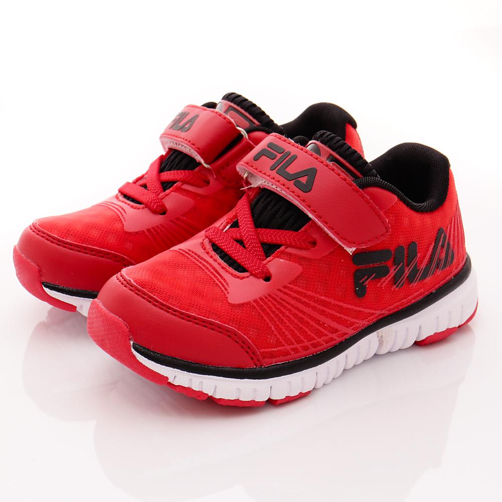 FILA頂級童鞋款-超輕機能穩定款-422R220紅(中小童段)HN