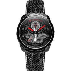 BOMBERG 炸彈錶 BOLT-68 COBRA眼鏡蛇限量版機械錶-黑/45mm