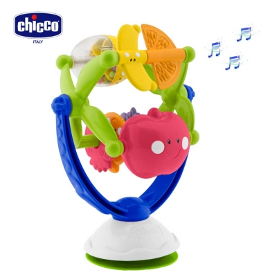 chicco轉轉音樂水果風車
