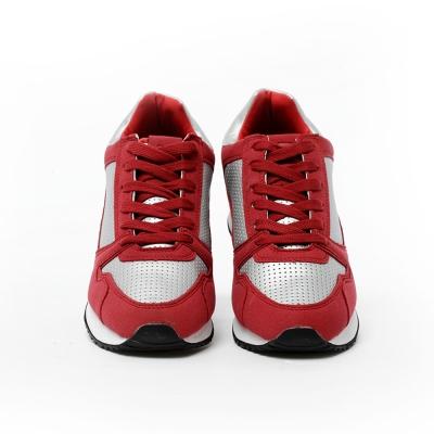 TOP GIRL-慢跑運動休閒鞋-金屬紅