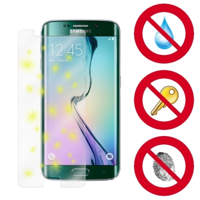 D&A Samsung Galaxy S6 Edge電競專用玻璃奈米5H...