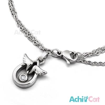 AchiCat 珠寶白鋼手鍊 天使蛋