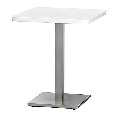 H&D 白櫻桃木紋2尺方桌 (寬60.6X深60.6X高75cm)