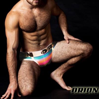 ORION 加強包覆條紋運動三角內褲 男內褲