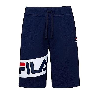 FILA #東京企劃 針織短褲-丈青1SHS-1410-NV