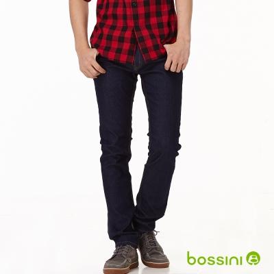 bossini男裝-修身牛仔褲02海軍藍