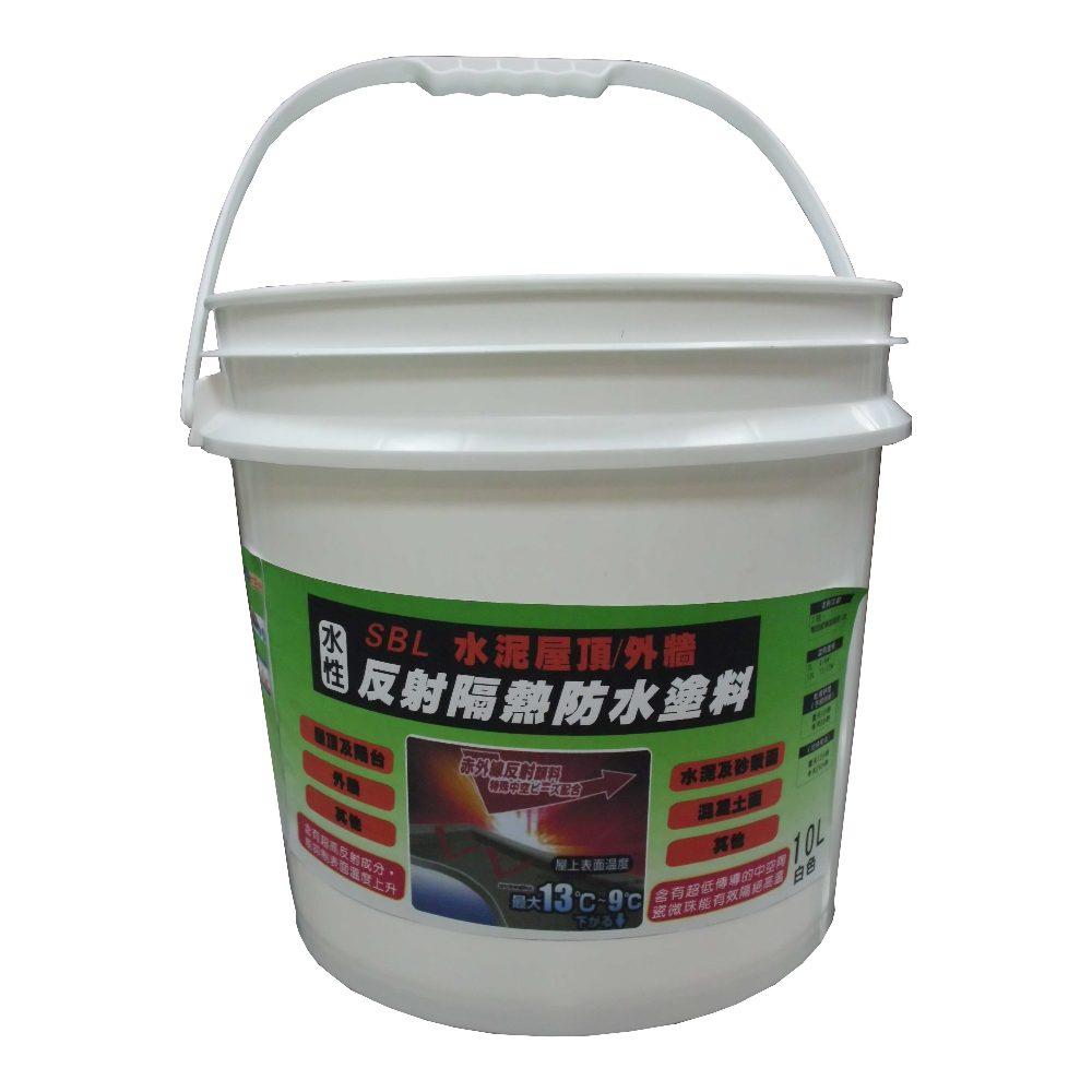 混凝土/水泥屋頂反射隔熱塗料 3L