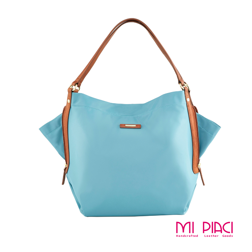 MI PIACI-彩蝶圓舞曲Butterfly Bag蝴蝶包-孔雀藍-1289718