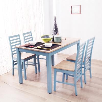 AS-阿爾貝托青瓷色餐桌組-120x75.5x75cm