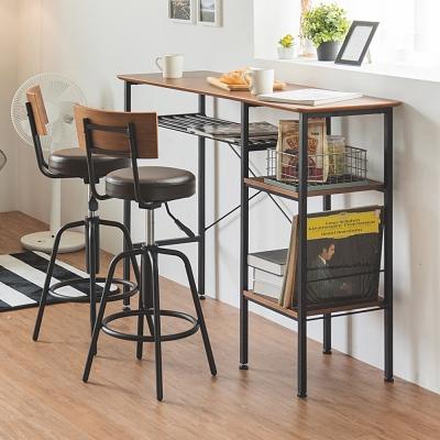 完美主義 英倫工業風吧台桌/餐桌/工作桌/層架收納