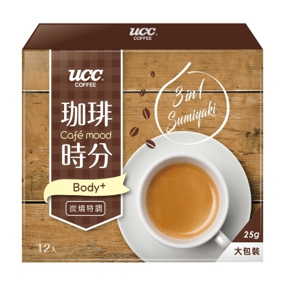 UCC 珈琲時分炭燒風味3合1咖啡(25gx12入)