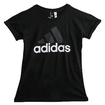 Adidas ESS LIN LO-短袖上衣-女