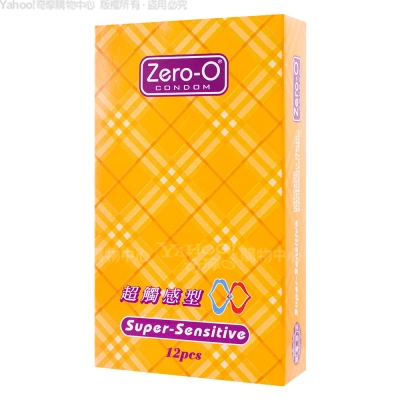 ZERO-O-零零超觸感型保險套(12入裝)(快速到貨)