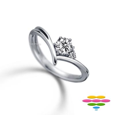 彩糖鑽工坊 19分鑽石戒指   星願系列