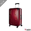 CROWN 皇冠  27吋鋁框相 旅行箱行李箱 十字造型拉桿箱 拉桿外置