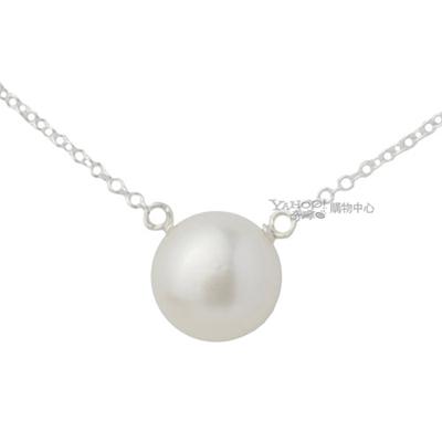 Dogeared 美國品牌優雅氣質純銀項鍊-大白珍珠款