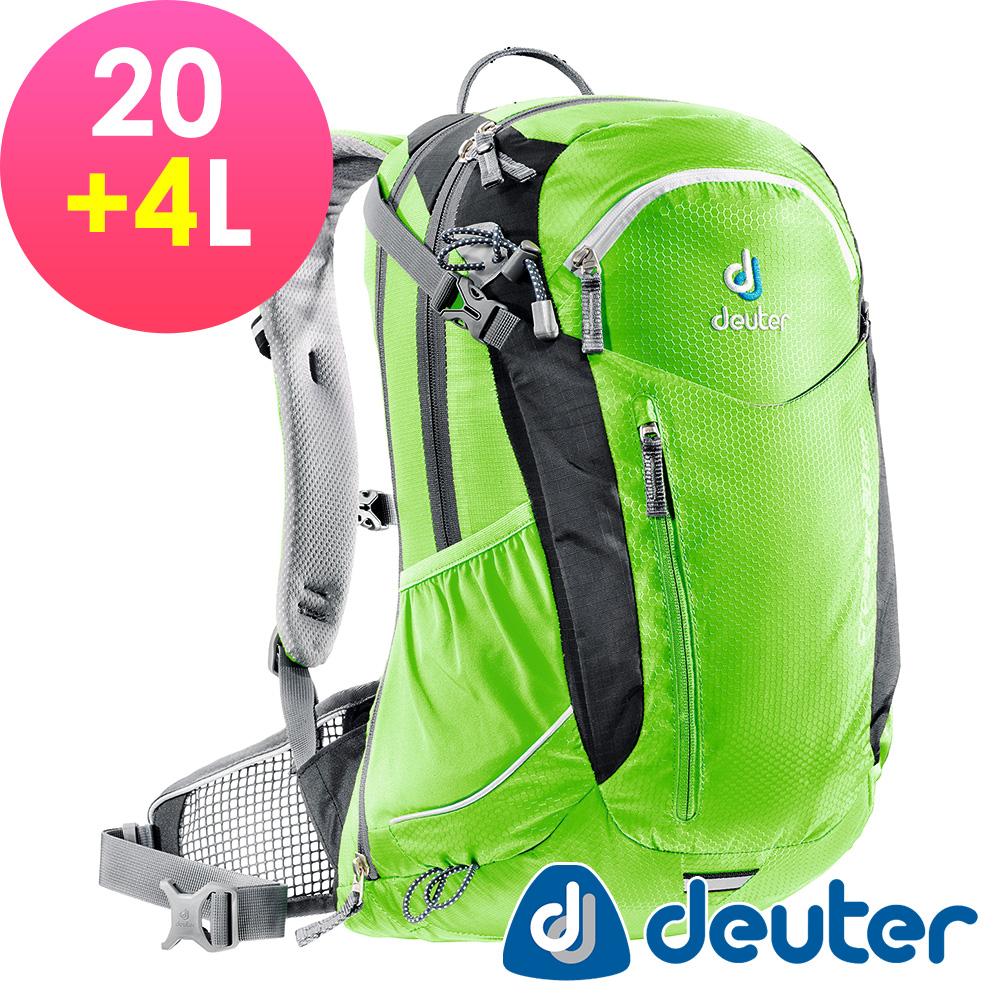 【ATUNAS 歐都納】德國DEUTER自行車網架包/運動登山背包32094黑綠