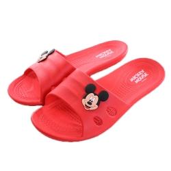 迪士尼米奇休閒拖鞋 紅sh0019 魔法Baby