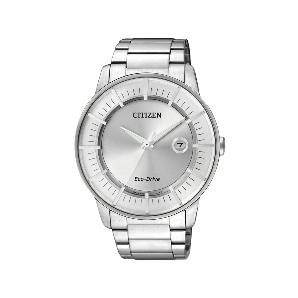 CITIZEN Eco-Drive 躍動世界時尚腕錶(AW1260-50A)-銀/42mm