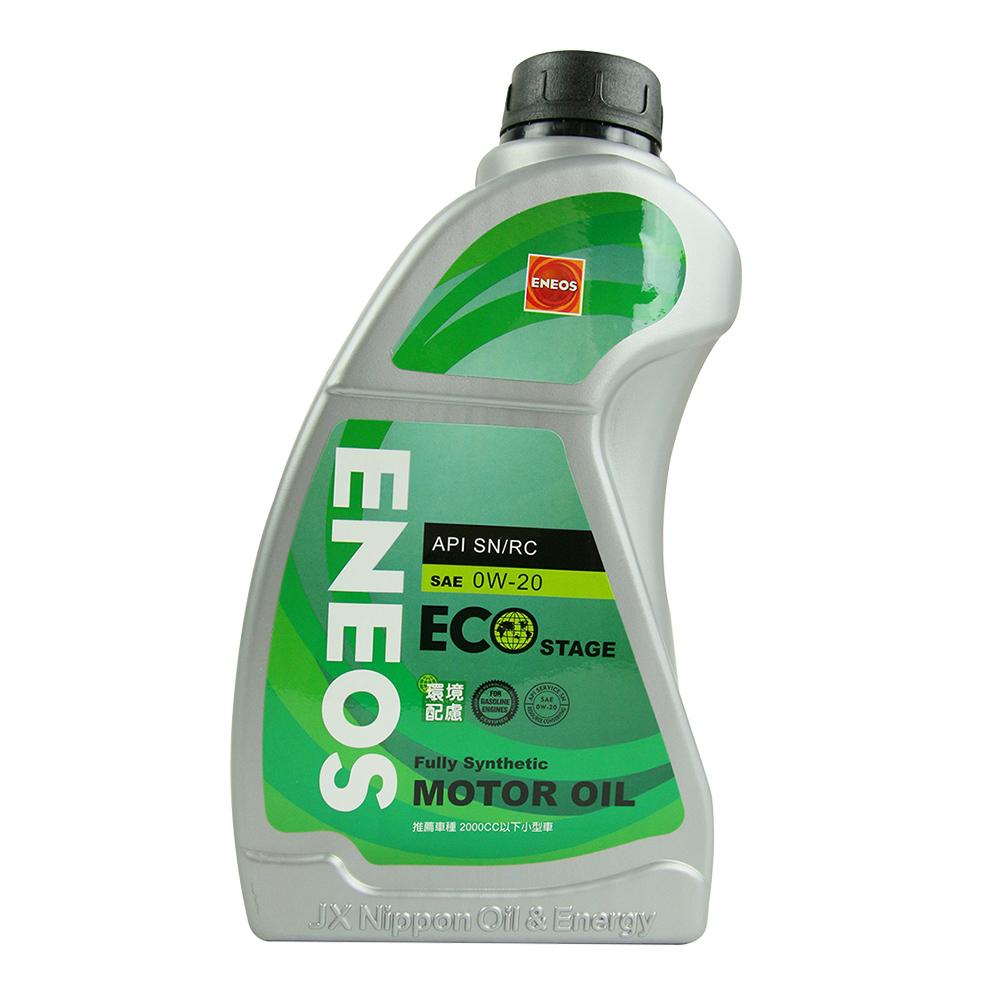 日本ENEOS API/SN 0W-20合成機油 4入
