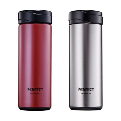 《PERFECT 》304不鏽鋼晶鑽真空保溫杯-420cc