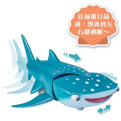 Disney迪士尼 BANDAI 海底總動員2 6吋系列公仔 鯨鯊 命運Destiny