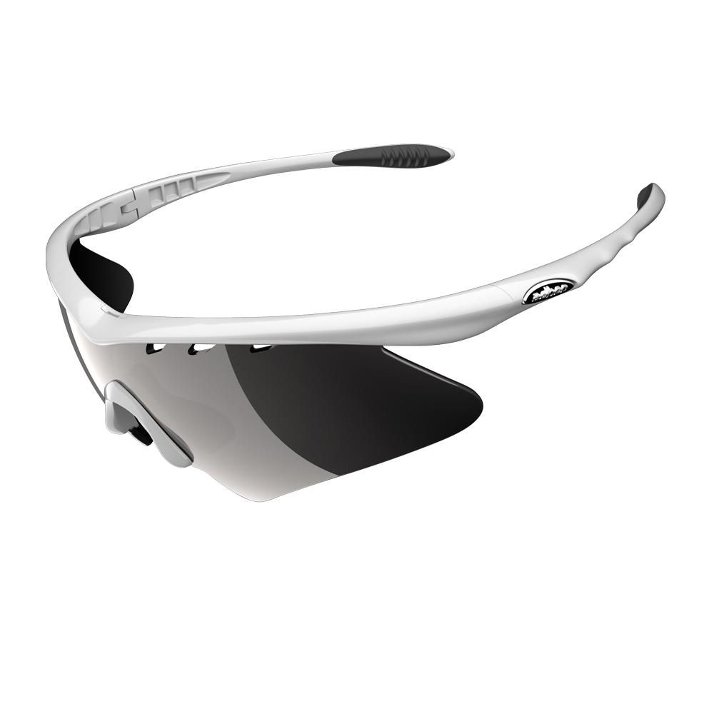 【ADHOC】運動太陽眼鏡-偏光灰片-半框式BULLI
