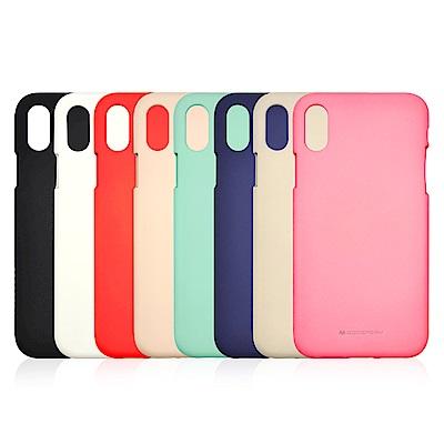 GOOSPERY Apple iPhone X 液態矽膠殼