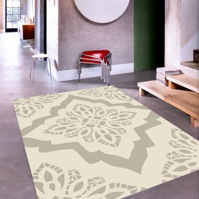 范登伯格 - 戰比壓克力紗地毯系列 - 花葉 (160x230cm)