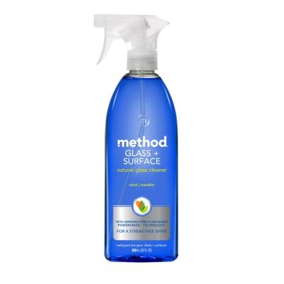 Method 美則 最好的玻璃天然清潔劑-薄荷828ml