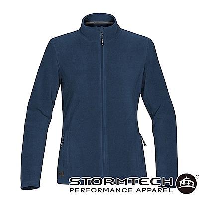 【加拿大STORMTECH】VFJ-1W中層FLEECE保暖拉鍊外套-女-深藍