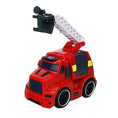 Amuzinc酷比樂 兒童玩具 磨輪動力車 聲光慣性消防雲梯車 5533-<b>2</b>