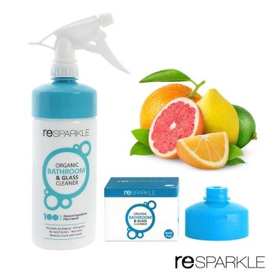 澳洲reSPARKLE 綠思寶-  浴室、玻璃清潔組(清潔劑+補充蓋)