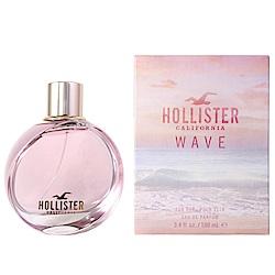 HOLLISTER CALIFORNIA WAVE加洲夕陽女性淡香水精100ml