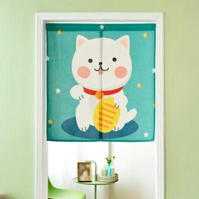 伊美居 - 金幣貓門簾 85cm x 90cm 1件