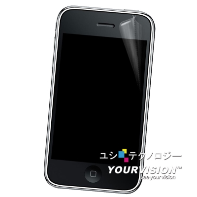 Apple iPhone 3G晶磨抗刮高光澤正面保護貼(2入)
