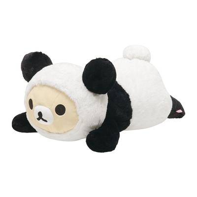 拉拉熊我愛大貓熊系列抱枕公仔。懶妹
