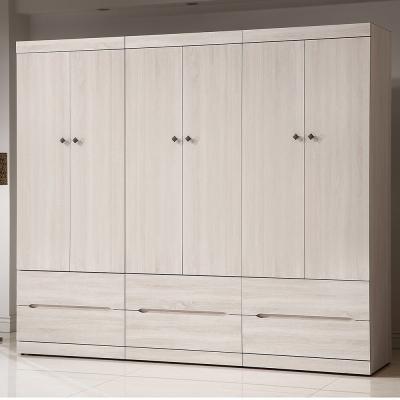 H&D 瑪奇朵7.8尺組合衣櫃237x54.5x209CM