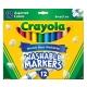 美國crayola 可水洗系列-可水洗12色粗頭彩色筆(3Y+) product thumbnail 1