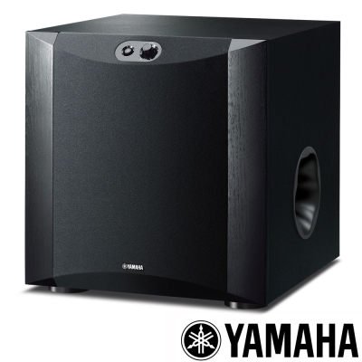 Yamaha 超重低音喇叭 NS-SW300-黑色