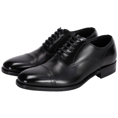 DOLCE & GABBANA 小牛皮綁帶紳士皮鞋(黑色)