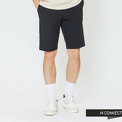 H:CONNECT 韓國品牌 男裝-簡約設計短褲-藍