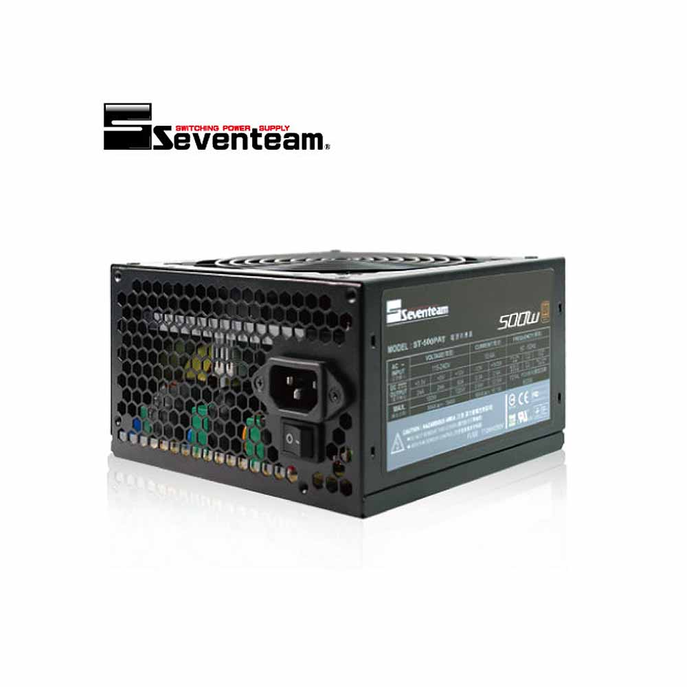七盟ST-500PAT銅牌(環保包裝) 電源供應器