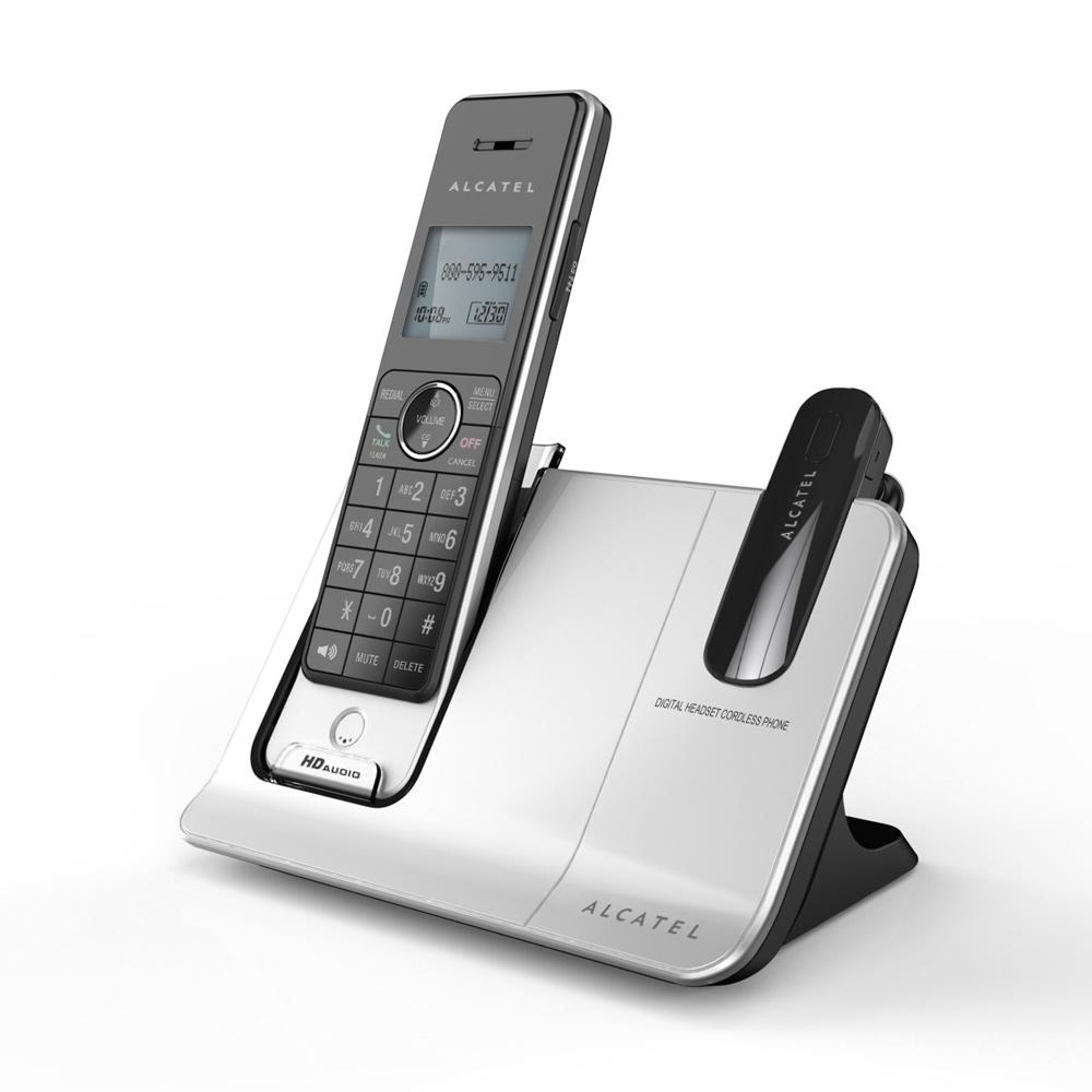 阿爾卡特 Alcatel DECT 數位無線電話 SB1000 + DECT數位無線耳機