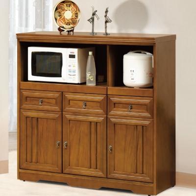 品家居楓之谷4尺實木餐櫃下座-120x42x123cm-免組