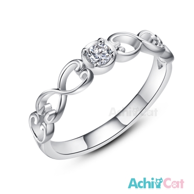 AchiCat 925純銀戒指尾戒 幸福樂章