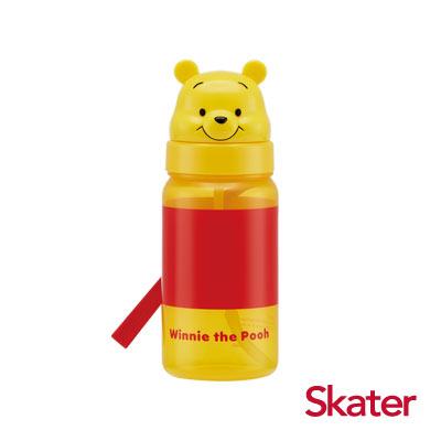 Skater造型吸管水壺(350ml)維尼